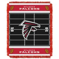 NFL 04401 Atlanta Falcons Field Baby Throw