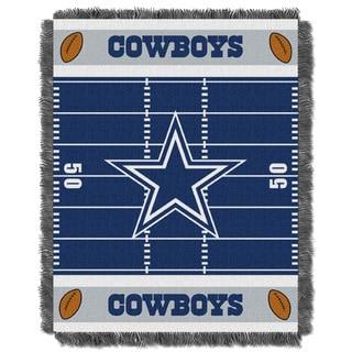NFL 04401 Cowboys Field Baby Throw