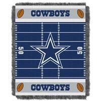 NFL 04401 Cowboys Field Baby Throw