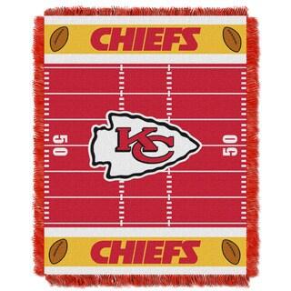 NFL 04401 Chiefs Field Baby Throw