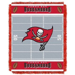 NFL 04401 Bucs Field Baby Throw