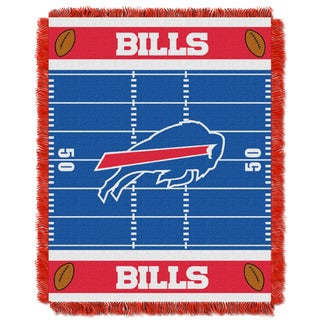 NFL 04401 Bills Field Baby Throw