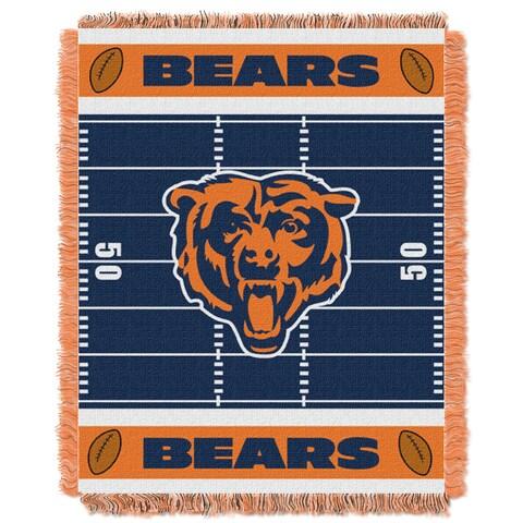 NFL 04401 Bears Field Baby Throw