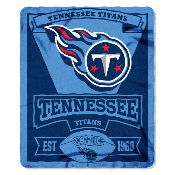 NFL 031 Titans Marque Fleece Throw