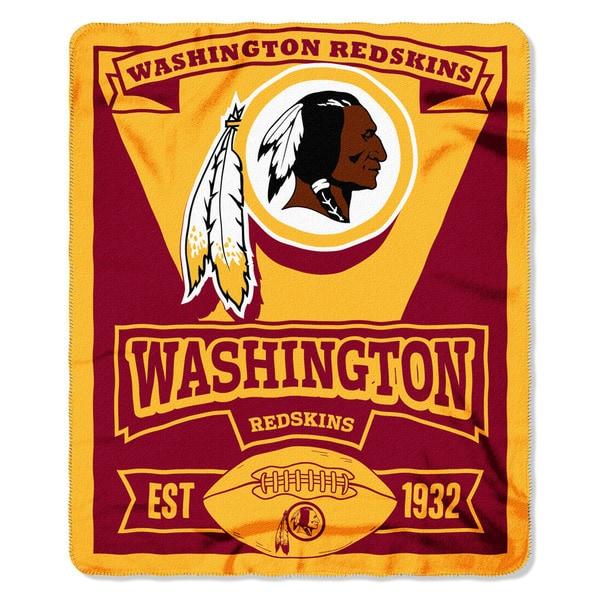 NFL 031 Redskins Marque Fleece Throw