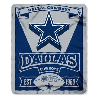 NFL 031 Cowboys Marque Fleece Throw