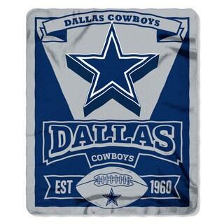 NFL 031 Cowboys Marque Fleece Throw