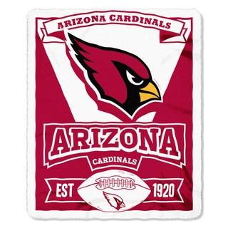 NFL 031 Cardinals Marque Fleece Throw