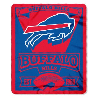 NFL 031 Bills Marque Fleece Throw