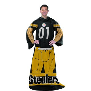NFL 024 Steelers Uniform Comfy Throw