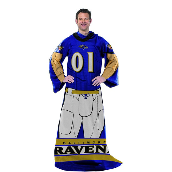 NFL 024 Ravens Uniform Comfy Throw