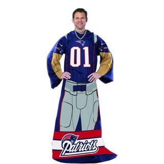NFL 024 Patriots Uniform Comfy Throw