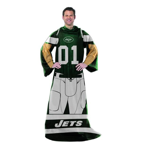NFL 024 Jets Uniform Comfy Throw