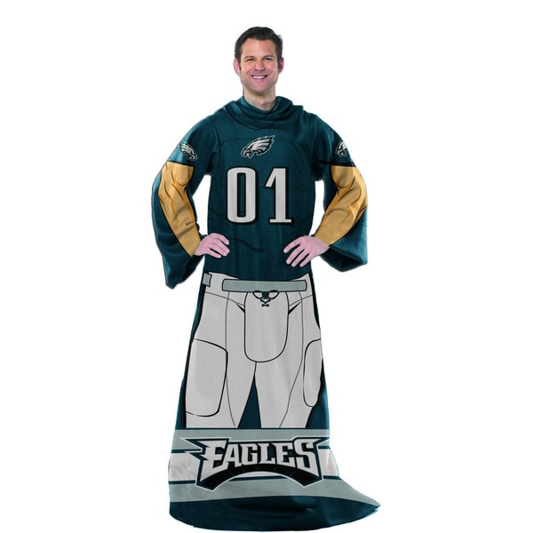 NFL 024 Eagles Uniform Comfy Throw