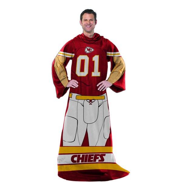 NFL 024 Chiefs Uniform Comfy Throw