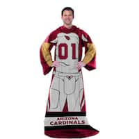 NFL 024 Cardinals Uniform Comfy Throw
