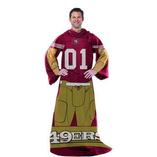 NFL 024 49ers Uniform Comfy Throw