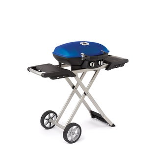 Napoleon TravelQ 285 Portable Propane Grill with Scissor Cart