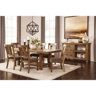 Signature Design by Ashley Tamilo Brown Dining Room Set|https://ak1.ostkcdn.com/images/products/12089976/P18954346.jpg?impolicy=medium