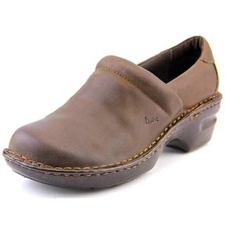 B.O.C. Women's Margaret Brown Leather Casual Shoes