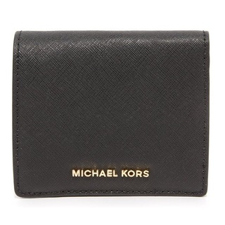 Michael Kors Jet Set Travel Carryall Card Case - Black