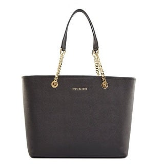 Michael Kors Jet Set Chain Black Tote Bag