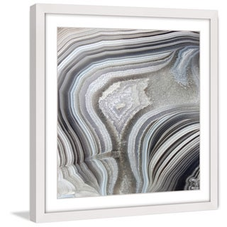 Marmont Hill 'Valley of Waves' Framed Painting Print