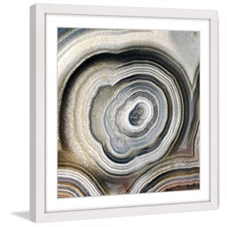 Marmont Hill 'The Eye of the Geode' Framed Painting Print
