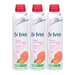 St Ives Fresh Hydration Naturally Energizing Citrus and Vitamin C 6.5-ounce Lotion Spray (Pack of 3)