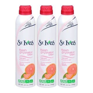 St Ives Fresh Hydration Naturally Energizing Citrus and Vitamin C 6.5-ounce Lotion Spray (Pack of 3)|https://ak1.ostkcdn.com/images/products/12090236/P18954595.jpg?impolicy=medium