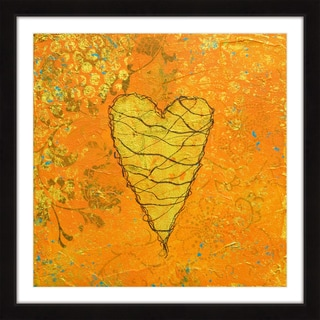 Marmont Hill 'Depth in Joy' Framed Painting Print