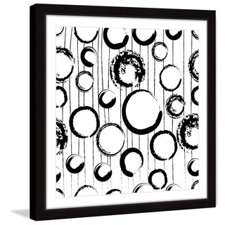 Marmont Hill 'Circle Variations' Framed Painting Print