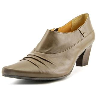 Fidji Women's L699 Brown Leather Casual Shoes