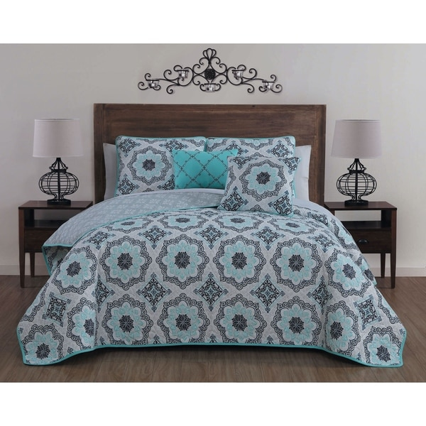 Avondale Manor Tova 5-piece Quilt Set