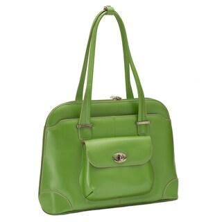 McKlein USA Avon Leather 15 inch Laptop Shoulder Handbag