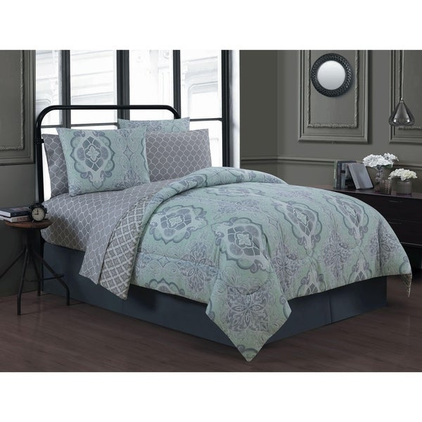 Avondale Manor Portofino 8-piece Bed in a Bag with Sheet Set