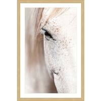 Marmont Hill 'Gentle Eye' Framed Painting Print
