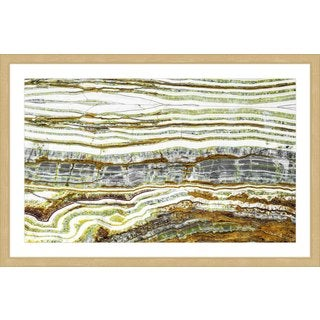 Marmont Hill 'Earth Layers' Framed Painting Print