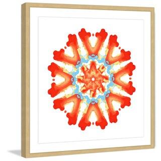 Marmont Hill 'Rotating Metamorphosis' Framed Painting Print