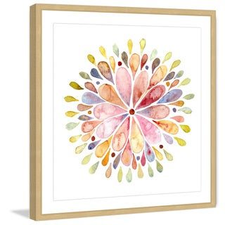 Marmont Hill 'Floral Explosion' Framed Painting Print