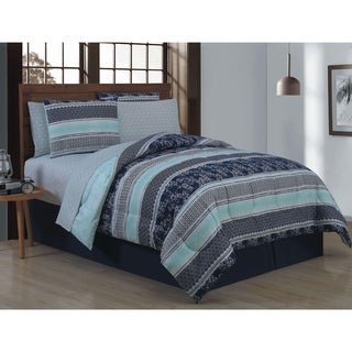 Avondale Manor Adler 8-piece Bed in a Bag with Sheet Set