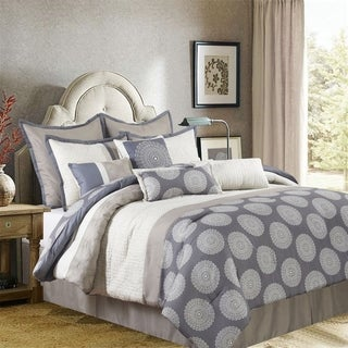 Nanshing Dante 10-piece Comforter Set with Accent Pillows