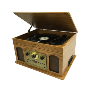 Studebaker Wooden 5-in-1 Music System