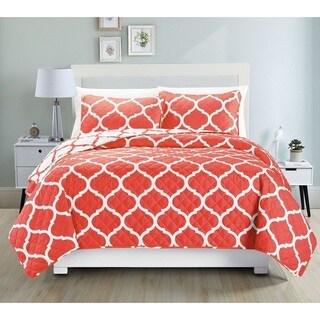 Fashion Street Terra 3-piece Bedspread Set