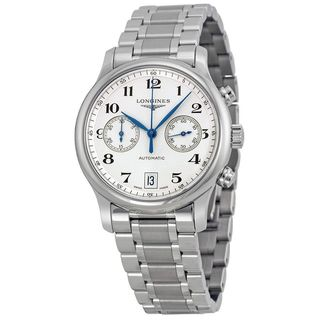 Longines Men's L26694786 'Master Collection' Chronograph Automatic Stainless Steel Watch