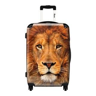 iKase Lion Hardside Carry-on 20-inch Upright Suitcase