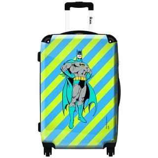 iKase Superman is Flying 20-inch Fashion Hardside Carry-on Upright Suitcase