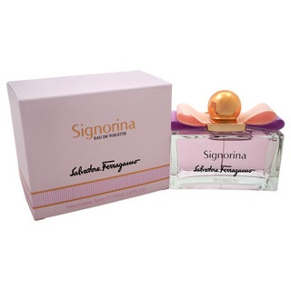 Salvatore Ferragamo Signorina Women's 3.4-ounce Eau de Toilette Spray