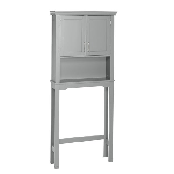 RiverRidge Somerset Collection Spacesaver, Gray - N/A