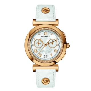 Versace Women's VANITY CHRONO Silver Watch
